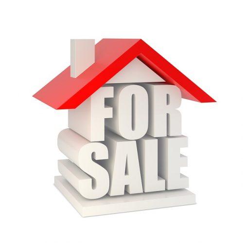 Het huis van de buren staat te koop